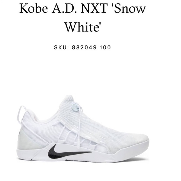 Nike Shoes | Kobe Ad Nxt In Snow White